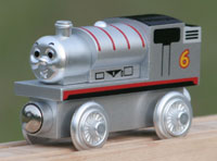 Special Silver Percy engine, celebrating the 60th anniversary. Limited Edition